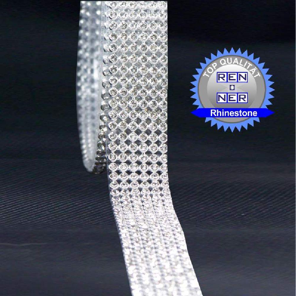 Artikel Nr-H00B62N-0__60cm-6-reihige-hotfix-strassband-mit-klaren-glaenzenden-strassteinen.-(lieferumfang-1-x-60cm)