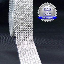 strassmatten_Nr-H00B67N__60cm-4-reihige-hotfix-strassmatte-klaren-glaenzenden-strassteinen-lieferumfang-1-x-60cm