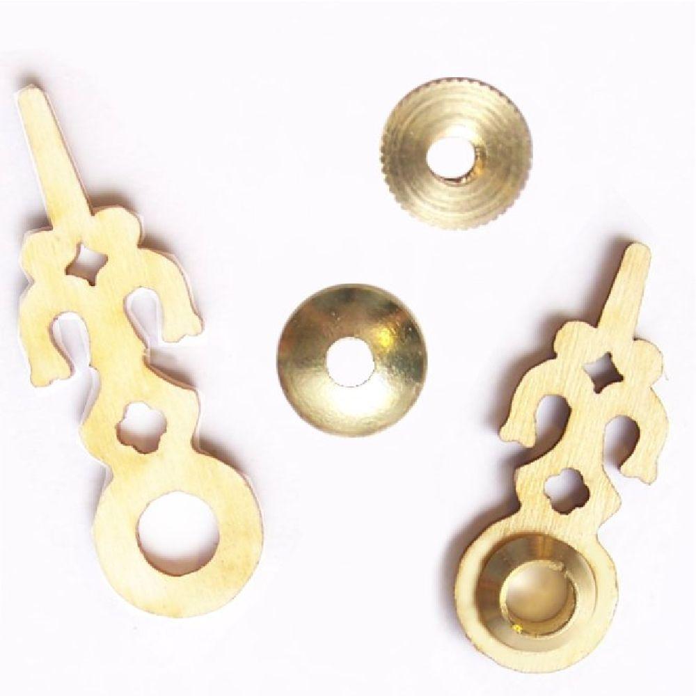 Artikel Nr-H01B81N-4__hochwertige-edle-dreischichtige-holz-zeiger-fuer-kuckucksuhren-mit-einem--ziffernblatt-durchmesser-von-90mm.-inklusive-zeigermutter-und-zeigerscheibe-in-messing.-holz-zeiger-ziffernblatt-durchmesser-90mm-messing