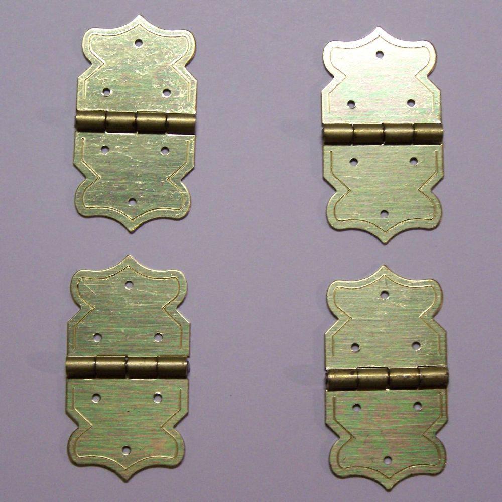 Artikel Nr-H02B28N-4__mini-eisen-beschlag-scharnier-set-in-goldgelb-moebelbeschlag