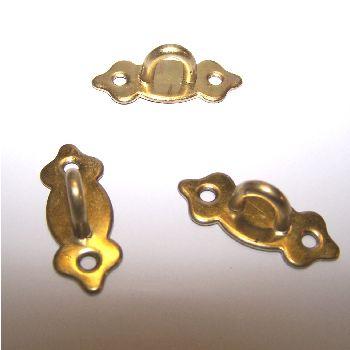 Artikel Nr-H02B29N-0__mini-metall-beschlaege-verschluss-verschlussbuegel-verschlussoese-messingfarben