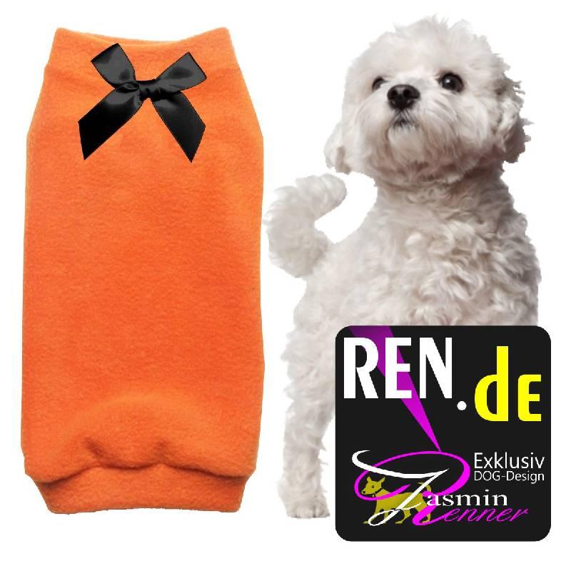 Artikel Nr-H09T40B-4__xxs,-feiner-hundepullover-in-der-farbe-orange-aus-edlem-fleece.-fleece