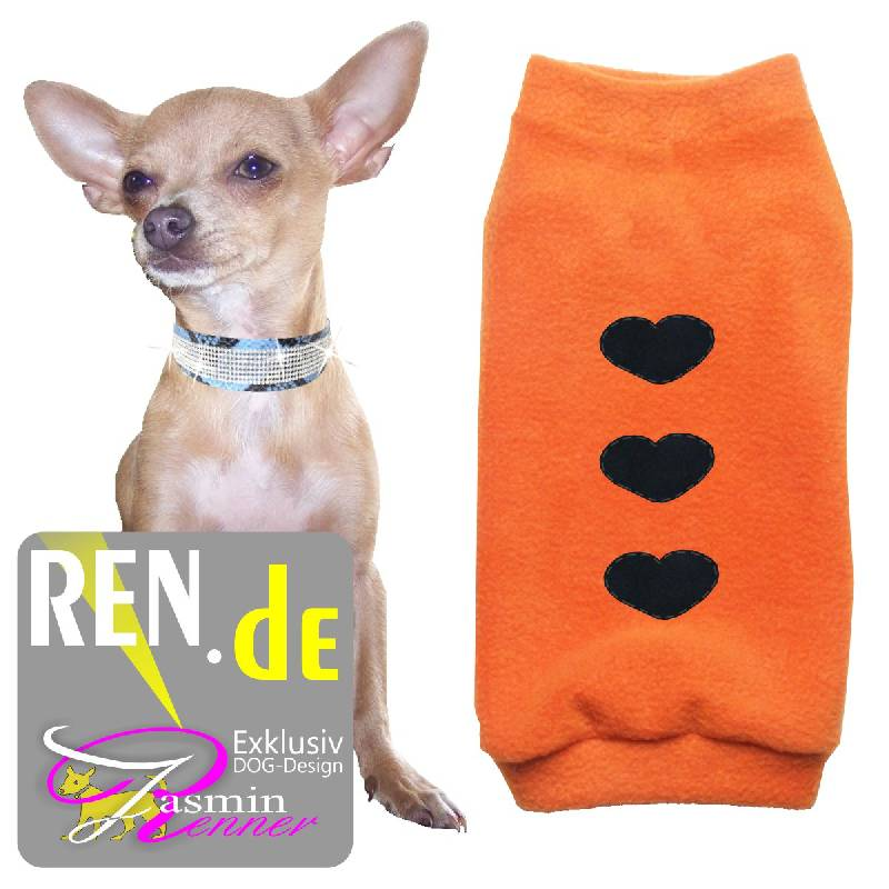 Artikel Nr-H09T98B-4__xxs,-designer-pulli-fuer-kleine-hunde-in-der-farbe-orange-aus-qualitaets-fleece.-qualitaets-fleece