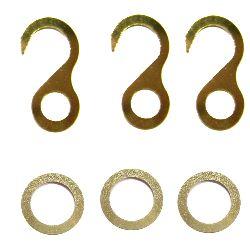 Artikel Nr-H19T88A-0__3x-set-bestehend-aus-oese-und-haken-vermessingt-fuer-uhrenketten-8-tag-8-tag