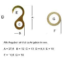 Artikel Nr-H19T88A-1__3x-set-bestehend-aus-oese-und-haken-vermessingt-fuer-uhrenketten-8-tag-8-tag