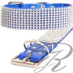 Artikel Nr-H67T38B-0__xs,-30mm-schmuckhalsband-mit-strass-9-reihig-in-schoenen-blau.-9-reihig-blau