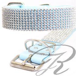 strasshalsbaender_Nr-H67T48B__15mm-strasshalsband-hundehalsband-strass-4-reihig-schleife-strassknochen-schoenen-hellblau