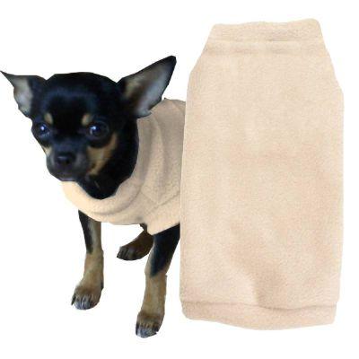 hundepullover_Nr-H70T17B__entzueckender-pulli-fuer-kleine-hunde-der-farbe-grau-schwarzem-kragen-buendchen-aus-qualitaets-fleece-leinenring