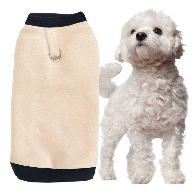 hundepullover_Nr-H71T06B__toller-hundepullover-der-farbe-grau-schwarzem-kragen-buendchen-aus-qualitaets-fleece-leinenring