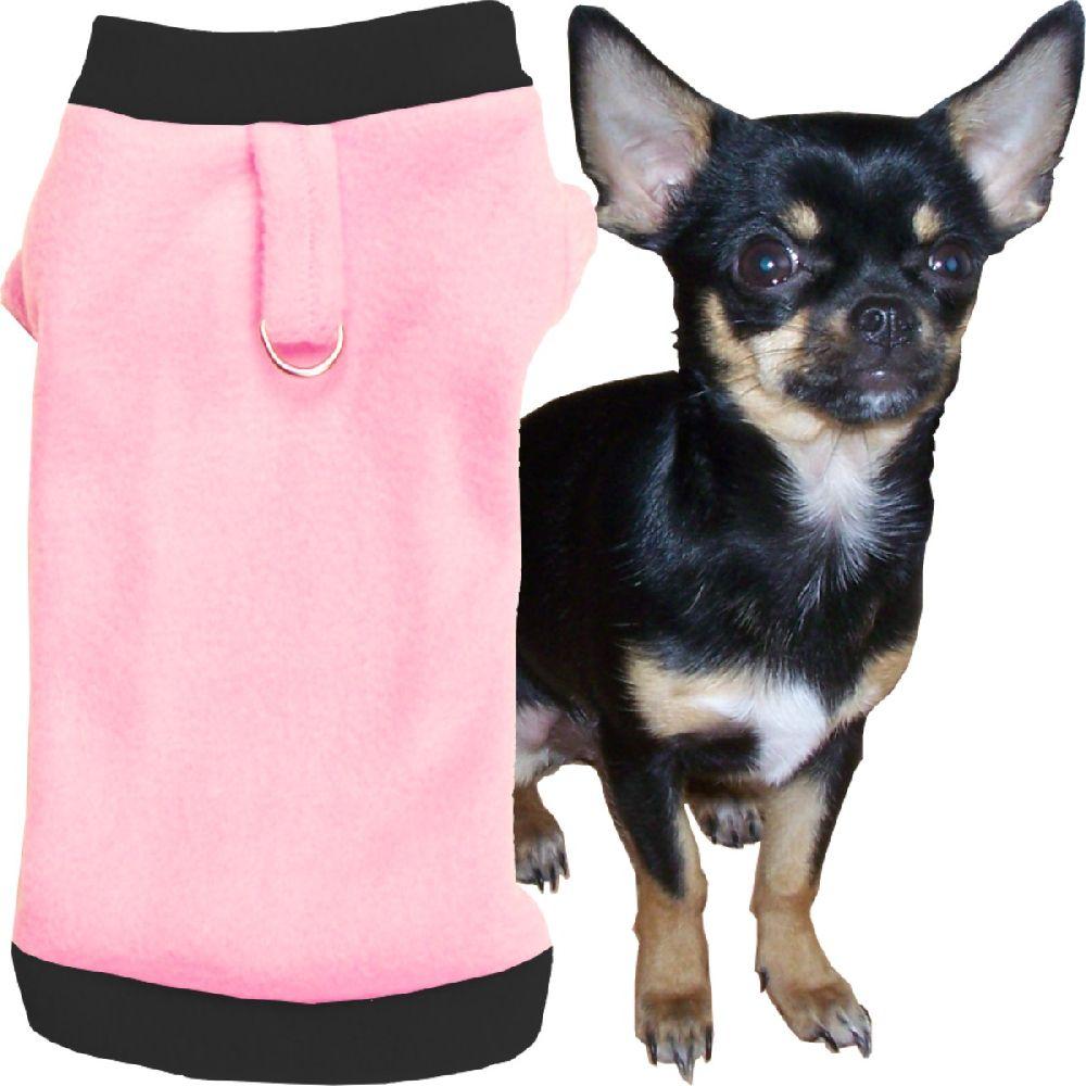 Artikel Nr-H71T32B-4__xxs,-flauschiger-pullover-fuer-kleine-hunde-in-der-farbe-rosa-schwarz-aus-qualitaets-fleecestoff-mit-leinenring.-rosa-schwarz-qualitaets-fleecestoff-leinenring