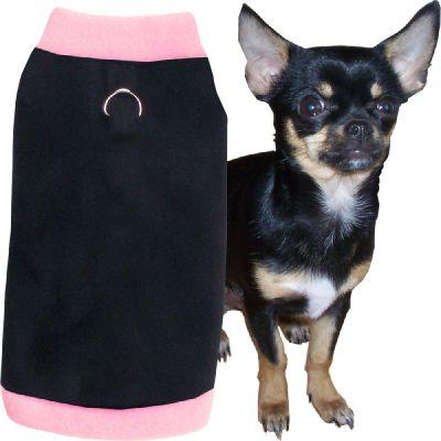 Artikel Nr-H71T44B-0__xxs,-flauschiger-pullover-fuer-kleine-hunde-in-der-farbe-schwarz-rosa-aus-qualitaets-fleecestoff-mit-leinenring.-schwarz-rosa-qualitaets-fleecestoff-leinenring