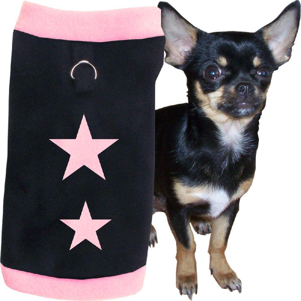 Artikel Nr-H71T95B-4__xxs,-flauschiger-pullover-fuer-kleine-hunde-in-der-farbe-rosa-schwarz-mit-sternen-aus-qualitaets-fleecestoff-leinenring.-rosa-schwarz-qualitaets-fleecestoff-leinenring