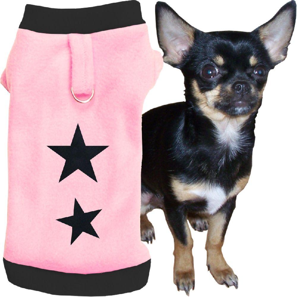 Artikel Nr-H72T08B-4__xxs,-flauschiger-pullover-fuer-kleine-hunde-in-der-farbe-rosa-schwarz-mit-sternen-aus-qualitaets-fleecestoff-leinenring.-rosa-schwarz-qualitaets-fleecestoff-leinenring