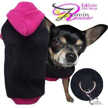 hundepullover_Nr-H80T83B__herrlicher-pullover-fuer-hunde-der-farbe-rosa-schwarzem-buendchen-kragen-aus-qualitaets-fleece