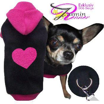 Artikel Nr-H80T87B-0__xxs,-flauschiger-pullover-mit-kaputze-u.-herz-in-der-farbe-schwarz-pink-aus-qualitaets-fleecestoff-leinenring.-u-schwarz-pink-qualitaets-fleecestoff-leinenring