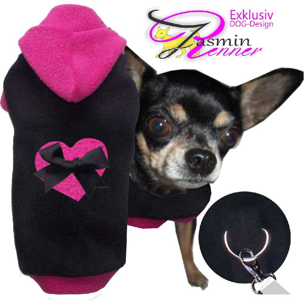 Artikel Nr-H80T91B-4__xxs,-flauschiger-pullover-mit-kaputze,herz-und-schleife-in-der-farbe-schwarz-pink-aus-qualitaets-fleecestoff-leinenring.-kaputzeherz-schwarz-pink-qualitaets-fleecestoff-leinenring