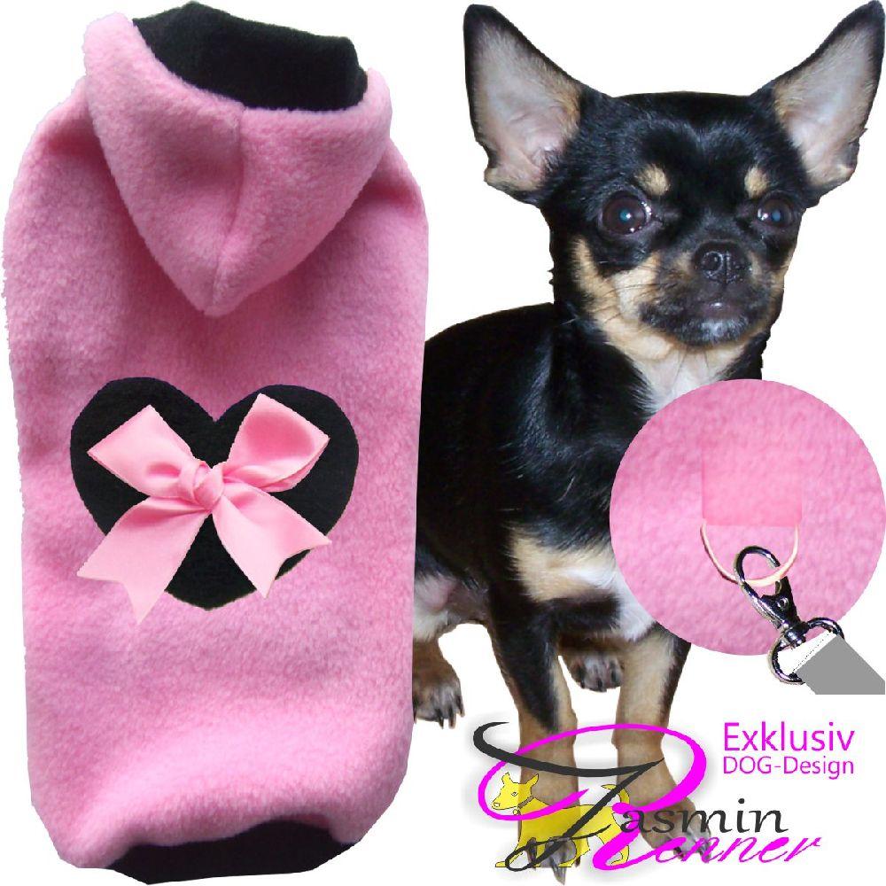 Artikel Nr-H81T15B-4__xxs,-flauschiger-pullover-mit-kaputze,herz-und-schleife-in-der-farbe-rosa-schwarz-aus-qualitaets-fleecestoff-leinenring.-kaputzeherz-rosa-schwarz-qualitaets-fleecestoff-leinenring