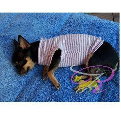 Artikel Nr-H70T92B-2__xs-hundepullover-fuer-kleine-hunde-und-welpen-in-der-farbe-rosa-mit-weissen-streifen-100%-baumwolle.