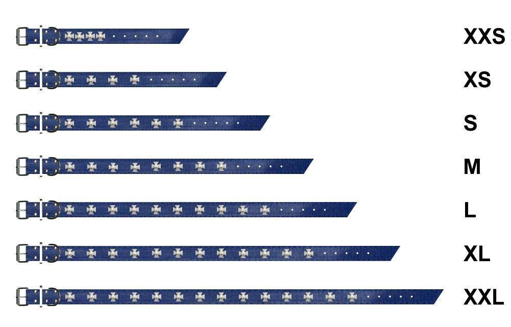 halsband-mit-nieten-blau-0