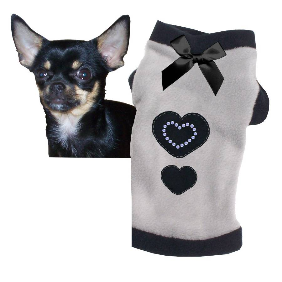 s grau pulli hundepullover hunde hoodie fleece hundebekleidung neu h0902b ebay. Black Bedroom Furniture Sets. Home Design Ideas